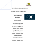 Antologia de Dinamica Social