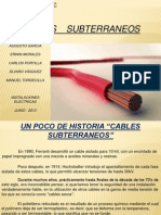 Cable Subterraneos