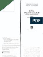 Habermas & Ratzinger (2008) - Entre razón y religión