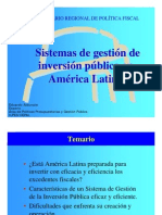 b.- Sistemas de Inversion Publica en America Latina - Ilpes - Eduardo Aldunate (1)