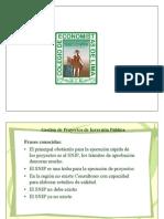 d.- Gestion de Proyectos - Colegio de Economistas de Lima