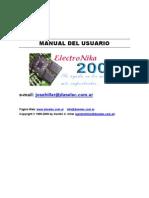 Manual de uso ElectroNika 2009