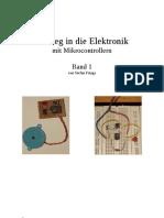 Einstieg in Die Elektronik Mit Mikrocontrollern - Band 1