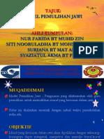 Model Pemulihan Jawi
