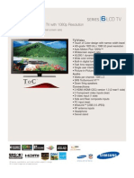 Samsung LN46A630 Spec