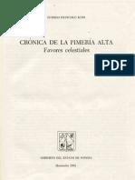 Cronica de La Pimeria Alta