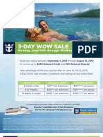 Royal Caribbean WOW Sale 6.10-06
