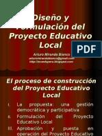 El Proyecto Educativo Local