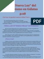 8. CG-La 'Nueva Luz' Del Feminismo en Gal 3.28-Parte.3 por Claudio Popa