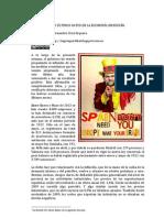 LOS ÚLTIMOS DATOS DE LA ECONOMÍA EN ESPAÑA