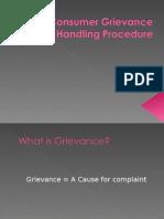 Consumer Grievance Handling Procedure[1]