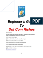 Guide to Dot Com Riches