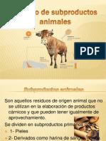 Empleo de Subproductos Animales