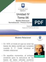Unidad 04T T6 Normalización.ppt