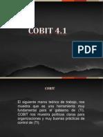 Cobit Auditoria