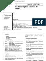 EB1961- Relés de medição e sistema de proteção