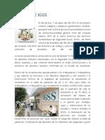 Accion de IGSS