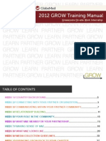 GROW Training Manual 2012