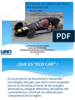 Diapositiva Eco Car