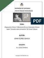 HISTORIA CLÍNICO DE LA  SEÑORITA ANNA O