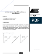 Atmel - Enhancing ADC Resolution by Oversampling
