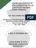PREVENCIÓN DE INFECCIONES INTRA HOSPITALARIAS