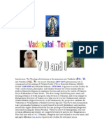 Vadakalai Tenkalai Doctrinal Differences