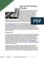 Pipe and Tube Bending Principles