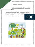FORMAS DE EDUCACIÓN