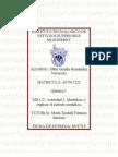 Química I MII-U2- Actividad 2. Identificar y explicar el método científico