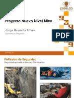 20111130 Nuevo Nivel Mina