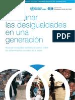 Determinantes Sociales de La Salud en Espanol Resumen
