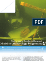 Programme Flyer, Maritime Archaeology SDU