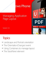 3.1 Managing Application Page Layout
