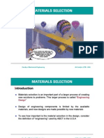 Materials and Selection Criteria