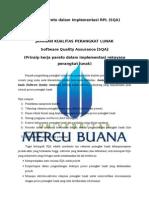 Prinsip Pareto dalam Implementasi RPL