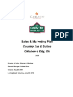 Sales & Marketing Plan - Completed