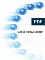 Daikin Oil Hydraulic Equipment Catalogue En
