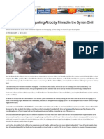 Is This the Most Disgusting Atrocity Filmed in the Syrian Civil War_ - By Peter Bouckaert _ Foreign Policy