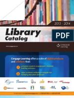 Cengage - Library Catalog 2013