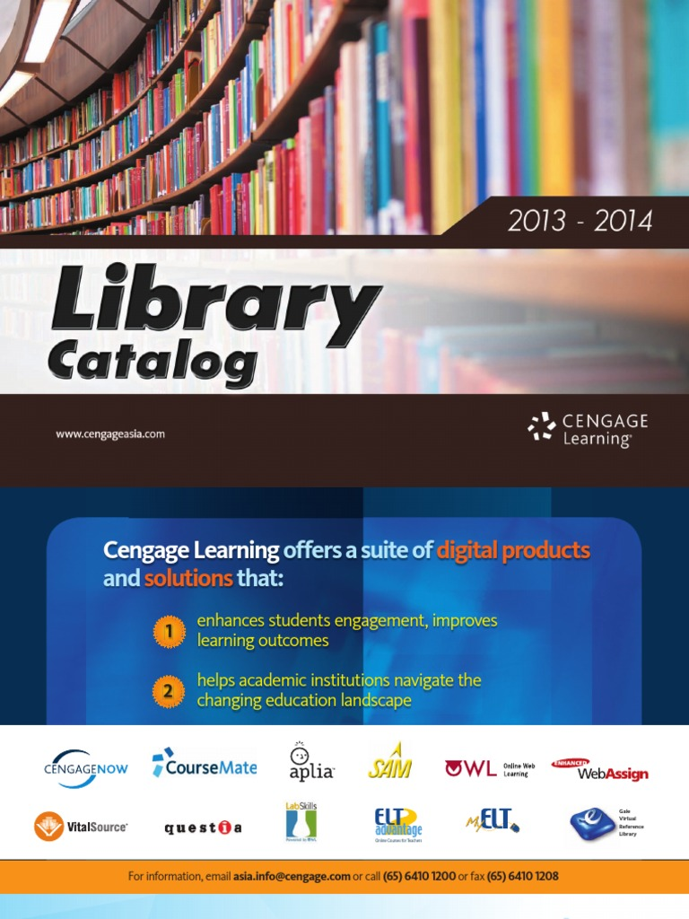 Cengage library catalog 2013 economics strategic management fandeluxe Gallery