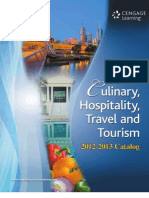 Cengage - Culinary Hospitality Travel Books 2013
