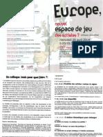 Programme Europe Nouvel Espace de Jeu TNT