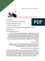 EPMLN Comunicado Revolucionario No. 1