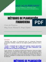 Métodos de Planeación financiera (24.05.2013)