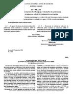 H G 1534 - 2008 Standarde de Referinta Si Indicatori de Perfomanta Pentru Evaluarea Si Asigurarea Calitatii in Invatamantul Preuniversitar