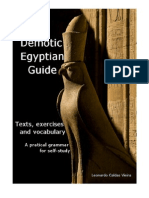 10.Demotic Egyptian Guide