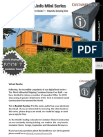 Shipping Container Homes Book 7
