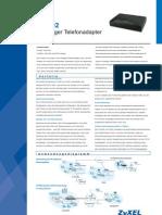 ZyXEL P2002 Datenblatt