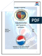 Pepsi Co. Marketing Project